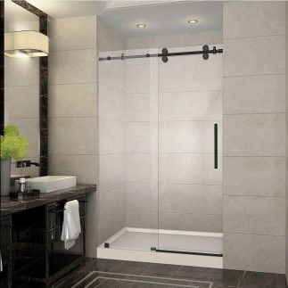 Small Bathroom Upgrading Ideas With Using Shower Glass Door