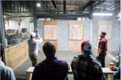 Why Axe Throwing Is the Perfect Birthday Party Activity