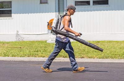 7 Handy Ways to Use Your Garden Leaf Blower