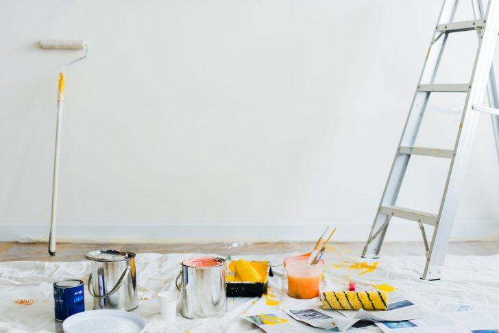How to Spray Paint a House Interior