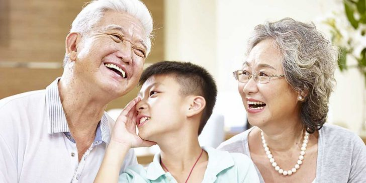 How grandparents play a role in shaping our lives?