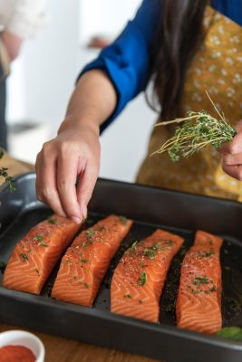 Salmon - A Nutritious Staple in a Global Food Aid Program