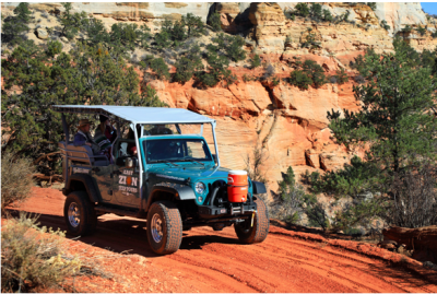 Best Jeep Tours in Southern Utah