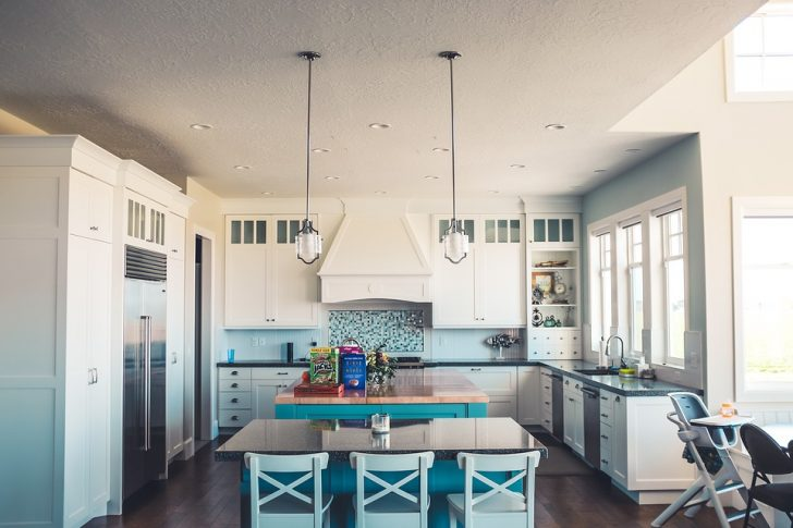 Let there be light: LED, pot lights, and pendant lights with stretch ceilings