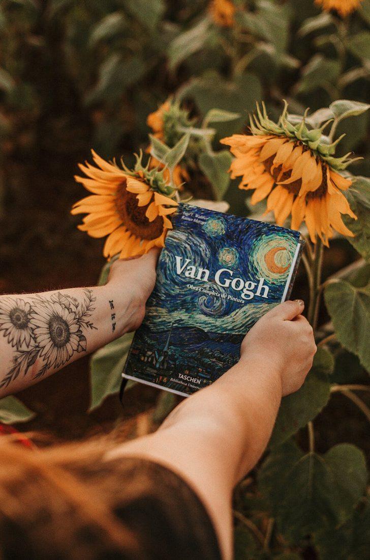 Recreation of Van Gogh paintings in Paint by numbers