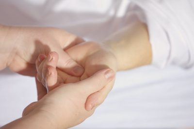 What are the benefits of hand massages?