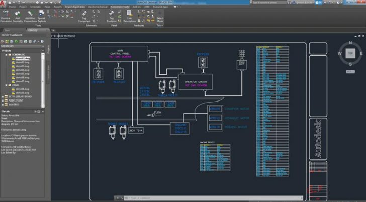 AutoCAD for Electrical Designs