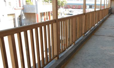 Wooden Balustrade