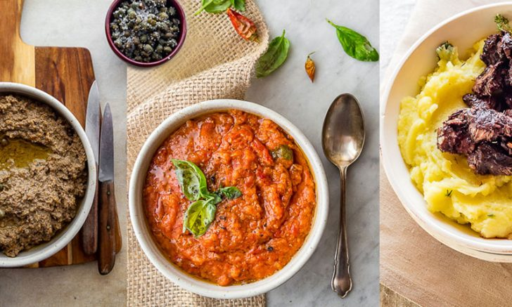 The top five typical food in Tuscany