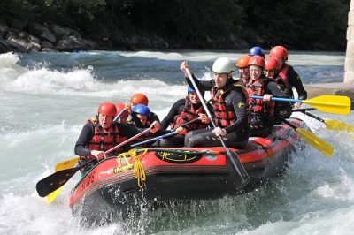 Water Rafting Can Enhance Well-being and Team Work