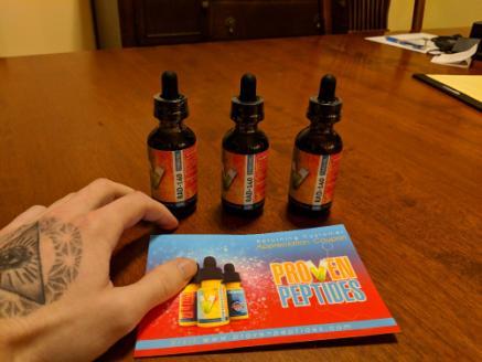 proven peptides vials