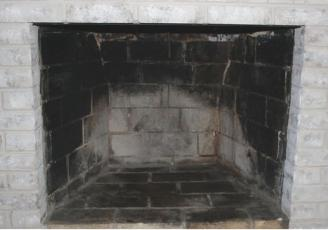 Challenges of Painting a Brick Fireplace