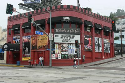How the Whisky a Go Go Events Started in California?