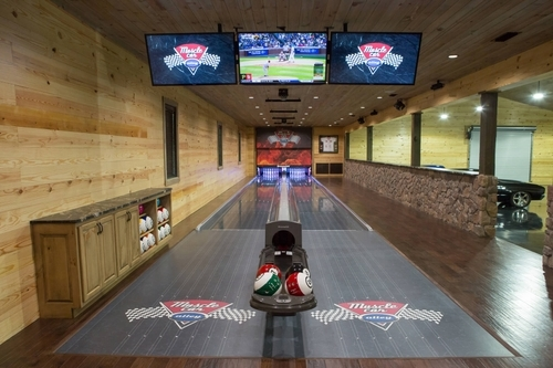 Bowling Alley inside