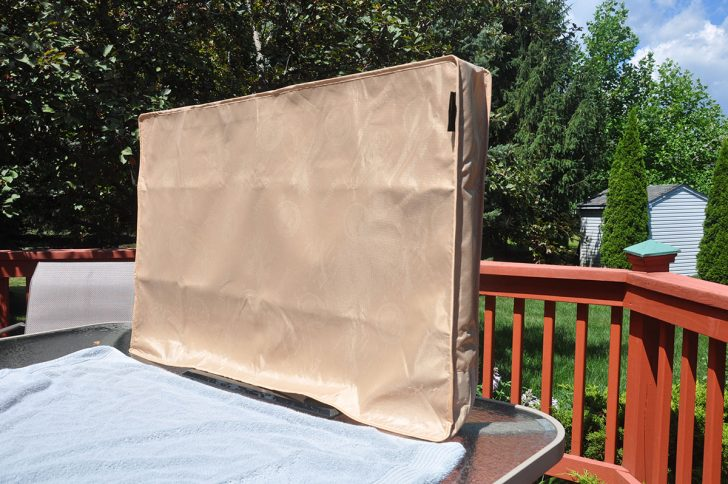 Outdoor TV Covers: Cabinets and All-Weather Garments