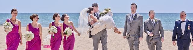 Ikke glem å sørge for at brudepikene er fornøyde