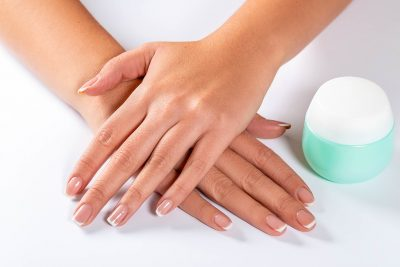 dry skin around nails home remedy