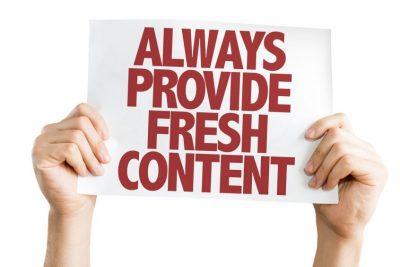 Fresh Content