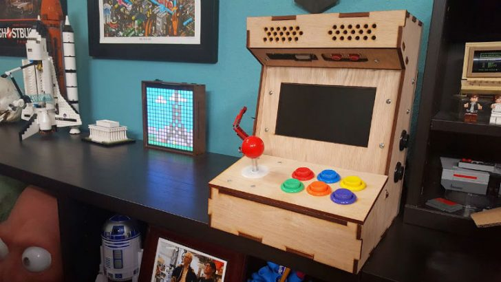 DIY Arcade Console Cabinet for Your Home