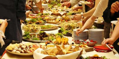 party buffet at home