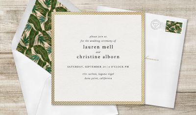 perfect wedding invitations