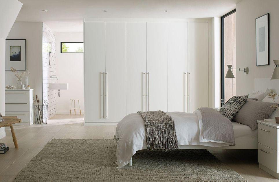 wardrobes in bedroom