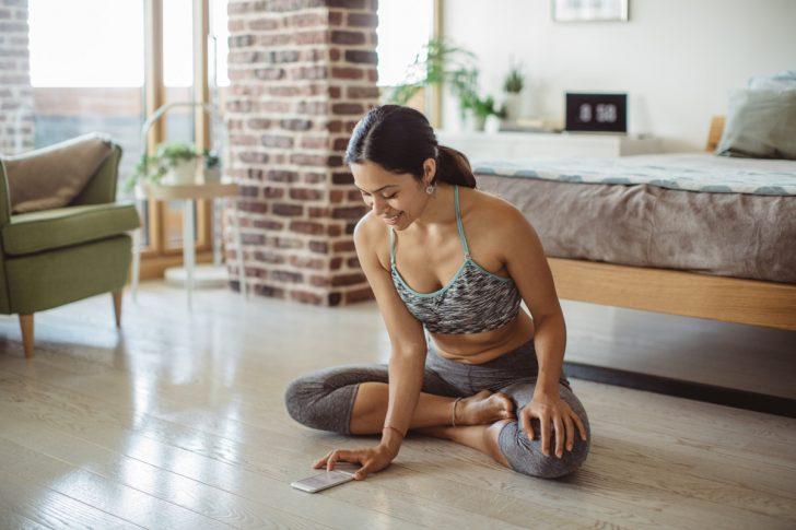 online yoga benefits