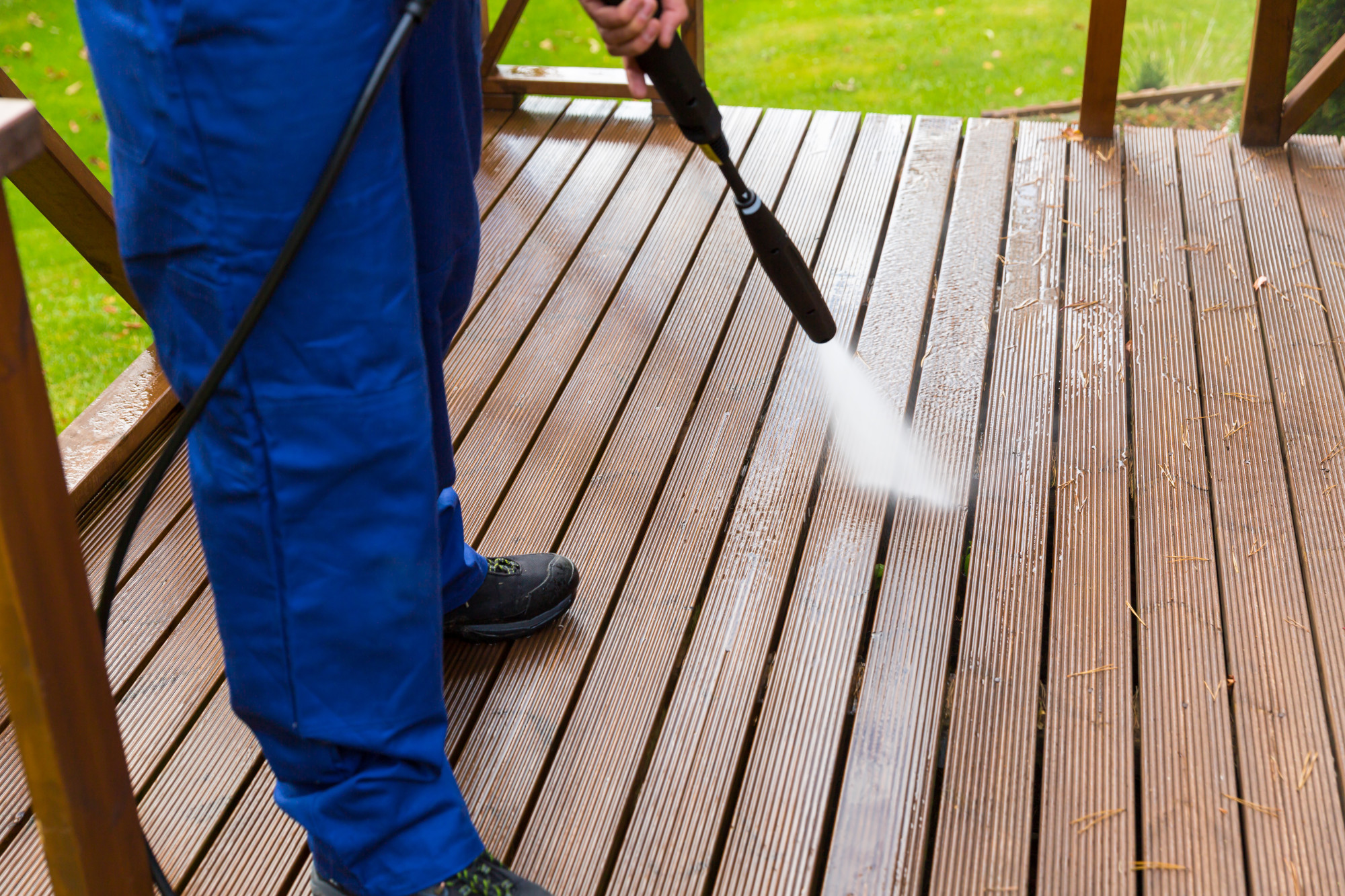 How to Power Wash a House