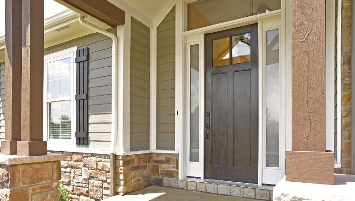 exterior replacement door