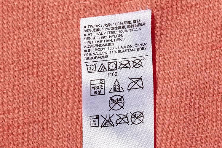 garment care labels