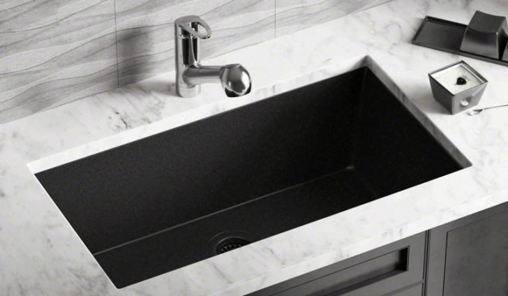 Why should you pick granite sinks from the kitchen sink mix for a modern look?