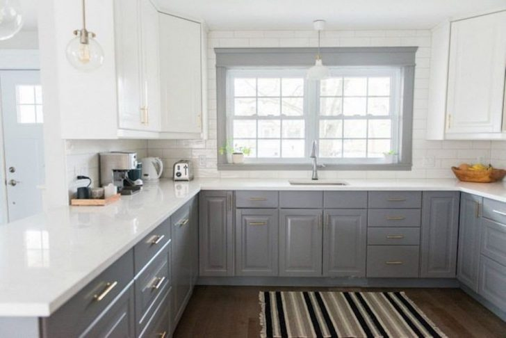 How to Pair Kitchen Countertops with Gray Cabinets