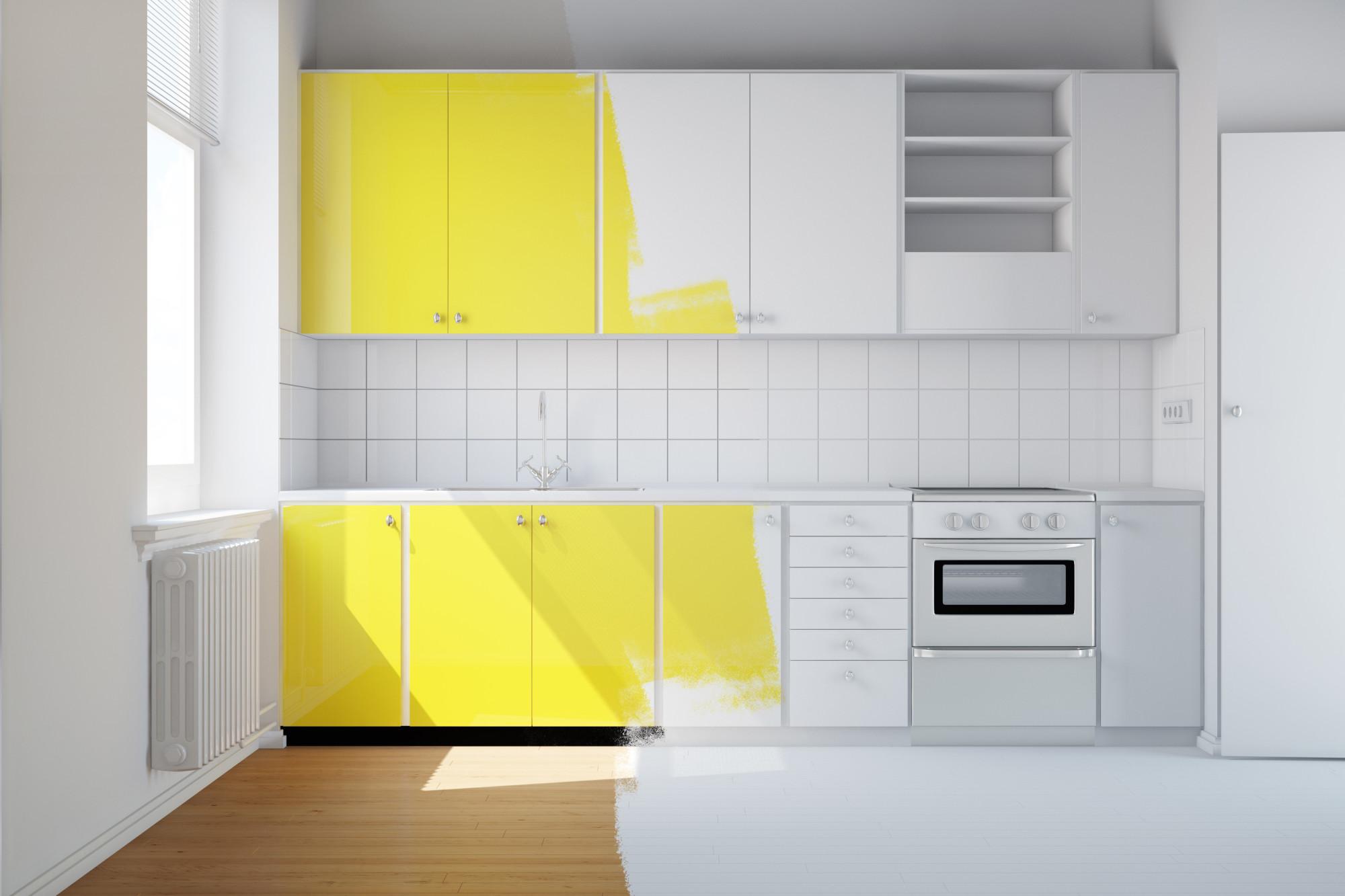 kitchen renovation color schemes