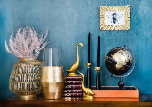 How to Include Metallics In Your Home Decor