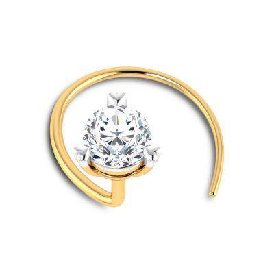 Elite Diamond Nose Pin
