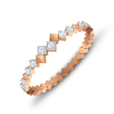 Shimmer Circulo Diamond Ring