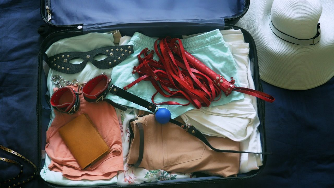 danger of traveling with sex toys