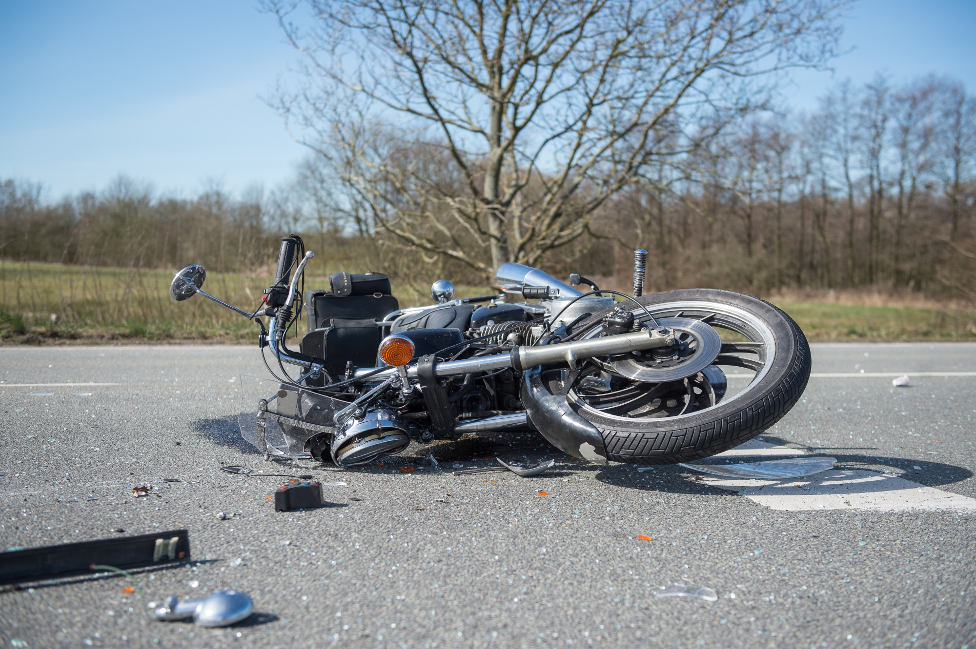 bad motorcycle wrecks