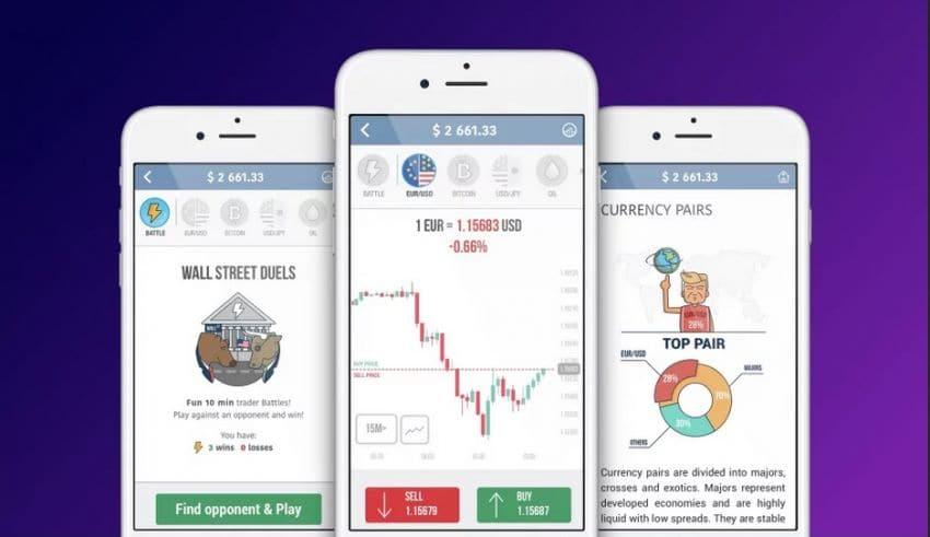 stock trading app