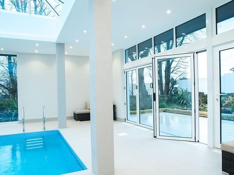 BiFold Doors To Open Up Interior Space