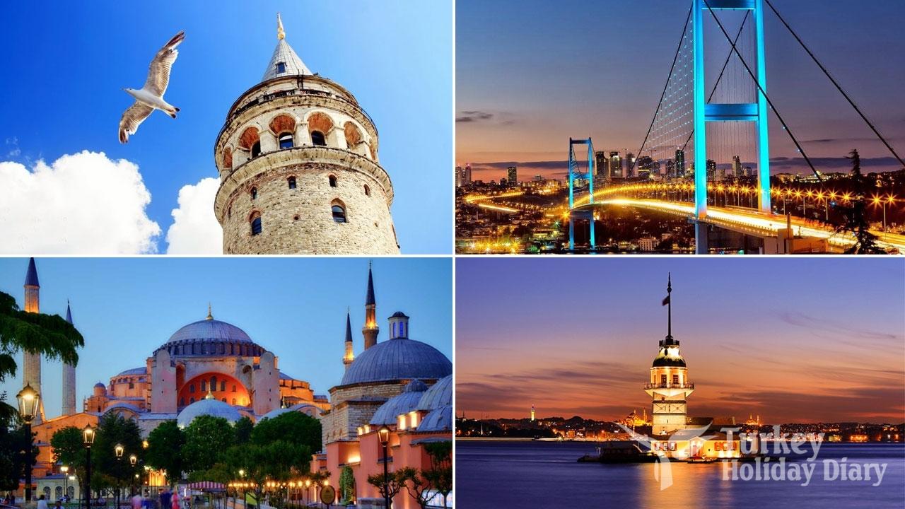 Istanbul tourist spots