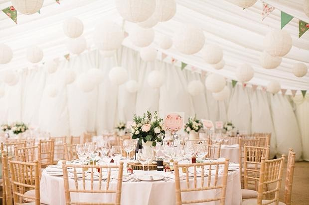 Planning a Summer Marquee Wedding