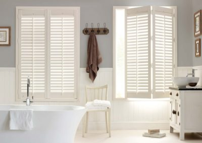 Why Window Shutters Are The Perfect Addition For Your New Bathroom
