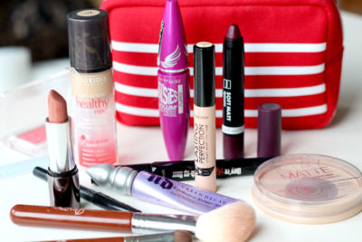 essential items in makeup bag