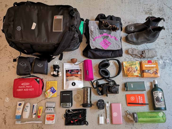 things to carry on a trip