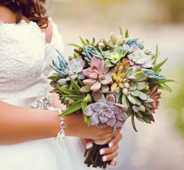 Non-Traditional Flower Bouquets