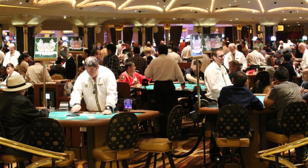 casino room job