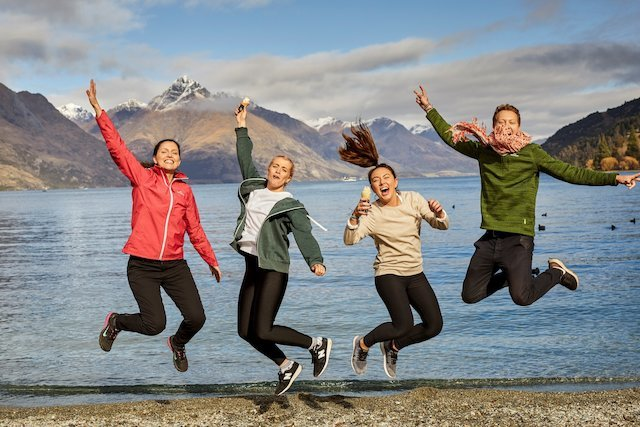 backpackers in New Zealand