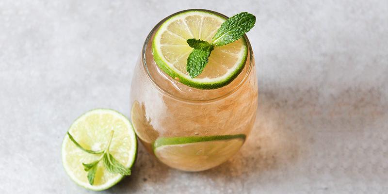 Making An Irish Mule Cocktail