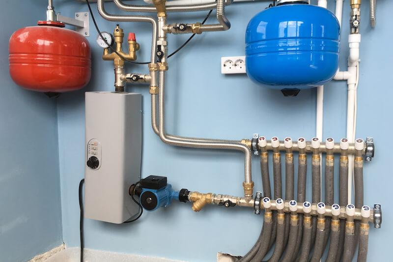 installing a boiler residence